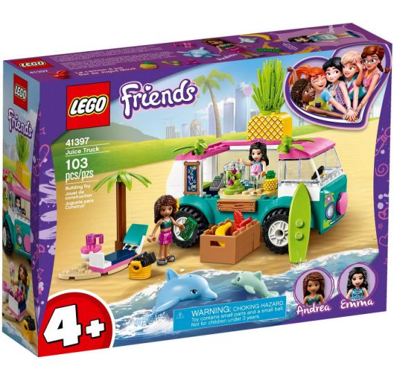LEGO FRIENDS 41397 Pojízdný džusový bar - balení