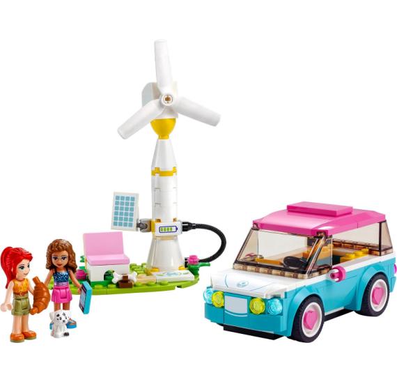 LEGO Friends 41443 Olivia a její elektromobil