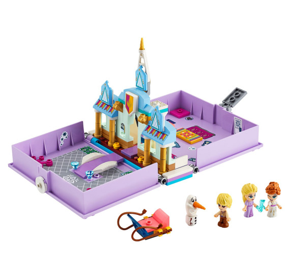 LEGO Disney 43175 Anna a Elsa a jejich pohádková kniha dobrodružství