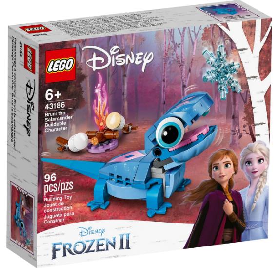 Lego Disney Princess 43186 Mlok Bruni sestavitelná postavička
