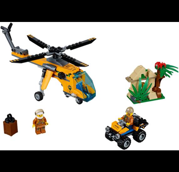 Lego City 60158 Nákladní helikoptéra do džungle - detail