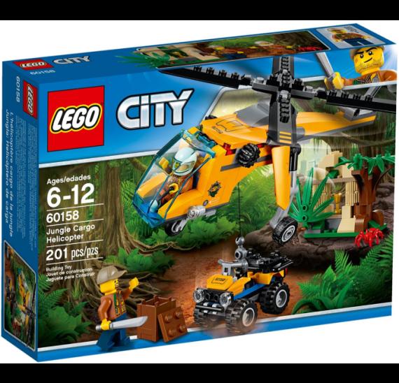 Lego City 60158 Nákladní helikoptéra do džungle - balení
