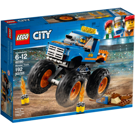 Lego City 60180 Monster truck - balenii