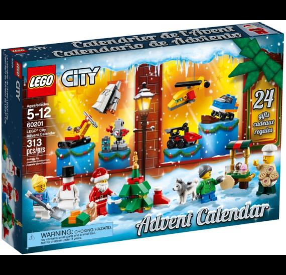 Lego City 60201 Adventní kalendář 2018 - balení
