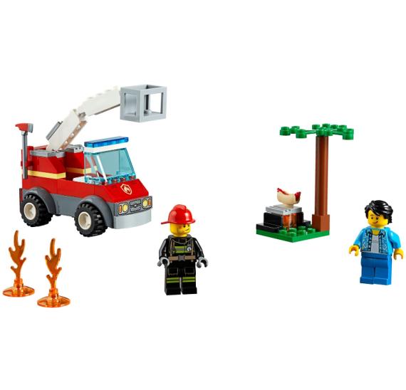 Lego City 60212 Grilování a požár - detail