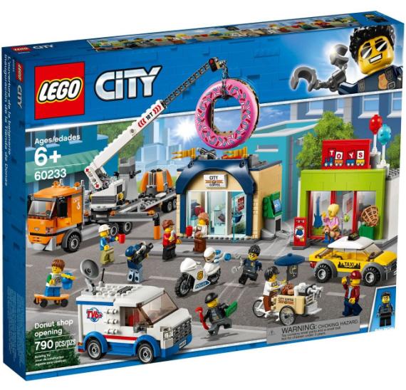 LEGO City 60233 Otevření obchodu s koblihami