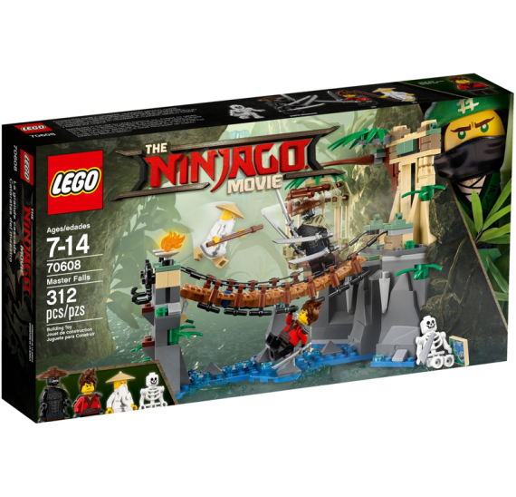 Lego Ninjago 70608 Vodopády Master Falls - celé balení