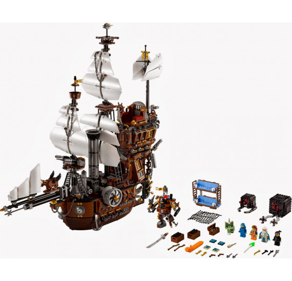 LEGO Movie 70810 Kovovousova mořská lod´ obsah
