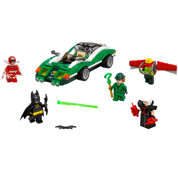 Lego Batman 70903 The Riddler Riddle Racer - detail