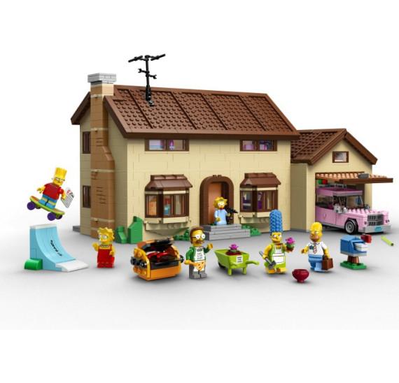 LEGO 71006 The Simpsons™ House obsah balení