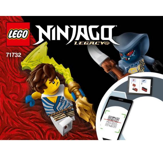 LEGO Ninjago 71732 Epický souboj Jay vs. Serpentine