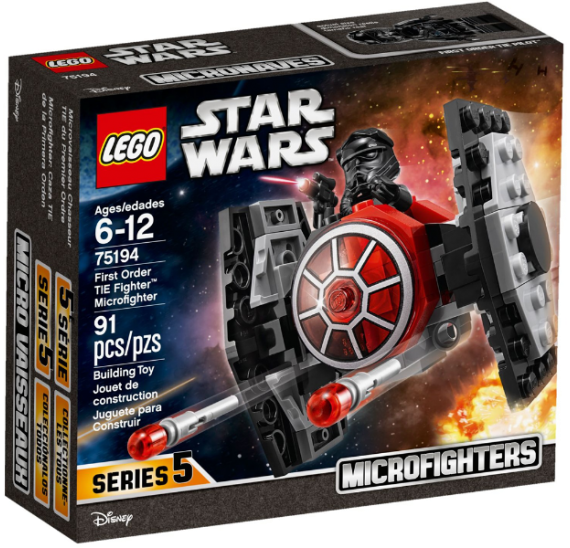 Lego Star Wars 75194 Mikrostíhačka Prvního řádu TIE Fighter - baleni