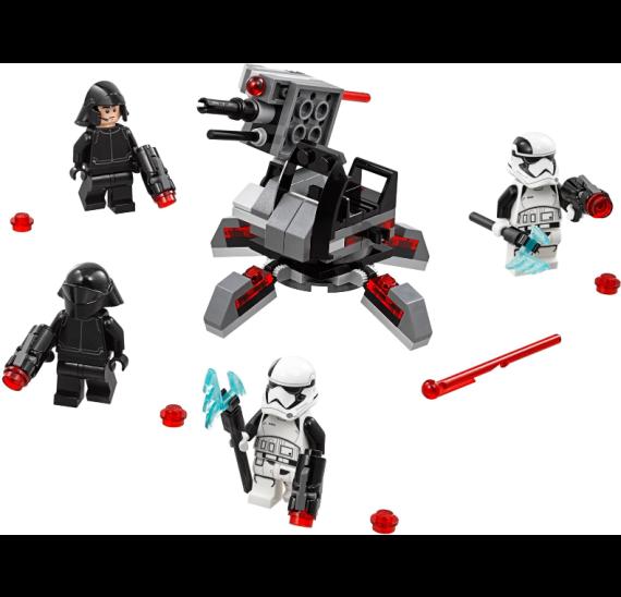 Lego Star Wars 75197 Oddíl speciálních jednotek Prvního řádu- detail