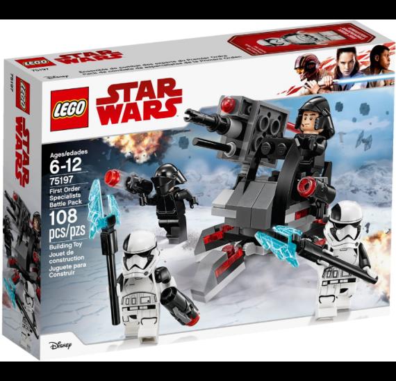 Lego Star Wars 75197 Oddíl speciálních jednotek Prvního řádu - baleni