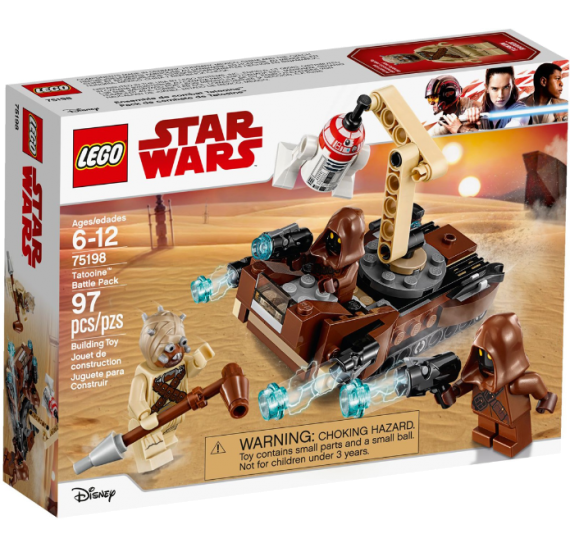 Lego Star Wars 75198 Bitevní balíček Tatooine - balení