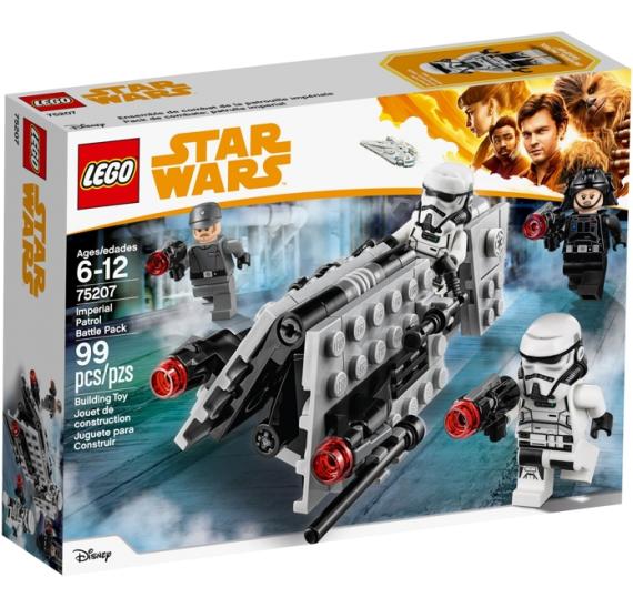 LEGO Star Wars 75207 Bitevní balíček hlídky Impéria - baleni