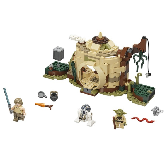 LEGO Star Wars 75208 Chýše Mistra Yody - detail