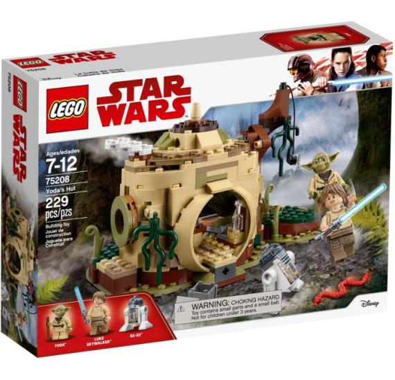 LEGO Star Wars 75208 Chýše Mistra Yody - balení