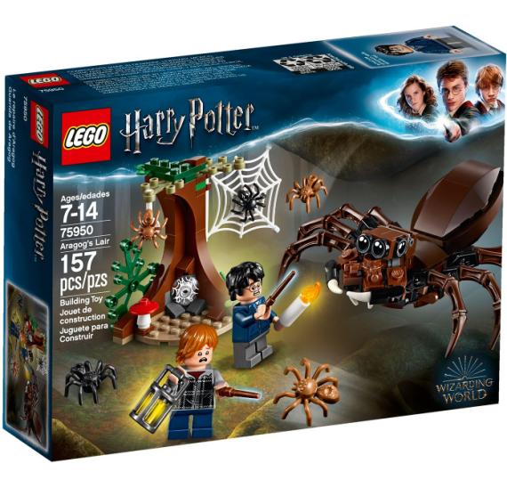 LEGO Harry Potter 75950 Aragogovo doupě  - celé balení