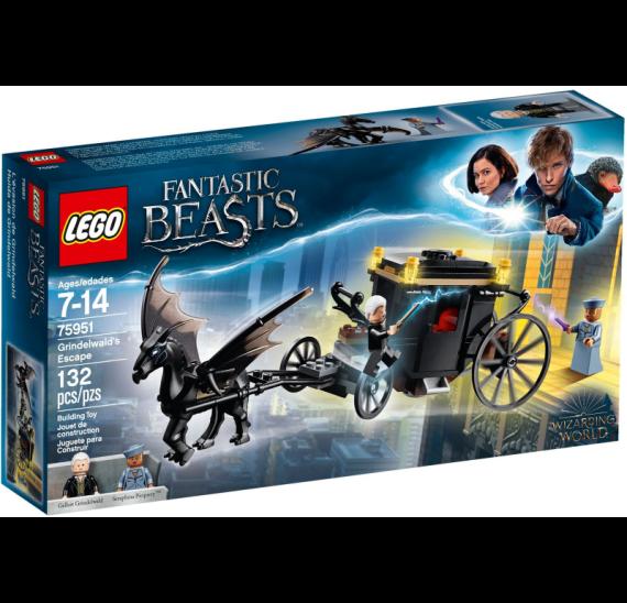 LEGO Harry Potter 75951 Grindelwaldův útěk - celé balení