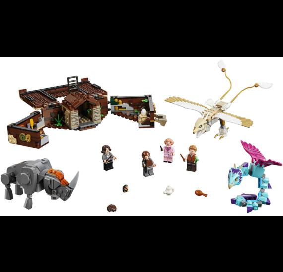 LEGO Harry Potter 75952 Mlokův kufr plný kouzelných tvorů - detail