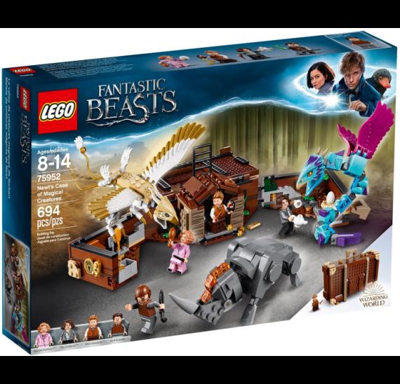 LEGO Harry Potter 75952 Mlokův kufr plný kouzelných tvorů - celé balení