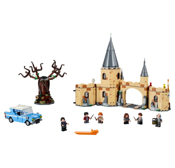 Lego Harry Potter 75953 Bradavická vrba mlátička   - detail 2