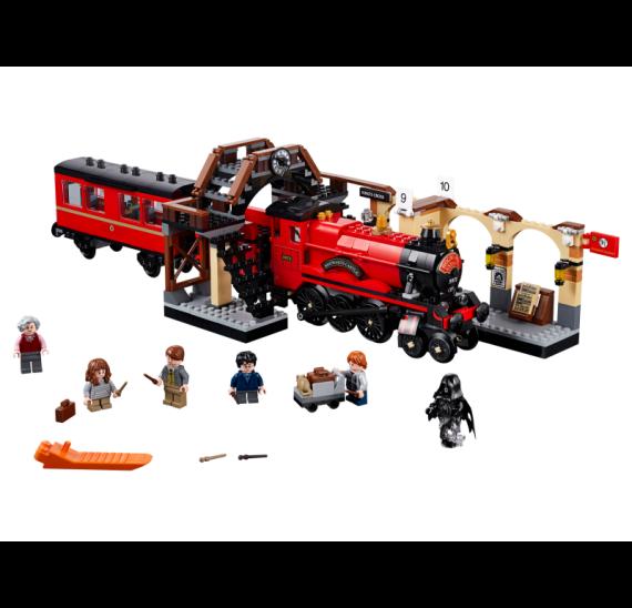 Spěšný vlak do Bradavic - detail