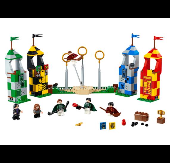 Lego Harry Pooter 75956 Famfrpálový zápas - detail