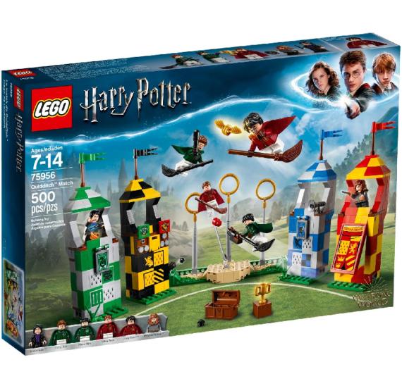 Lego Harry Pooter 75956 Famfrpálový zápas - belaní