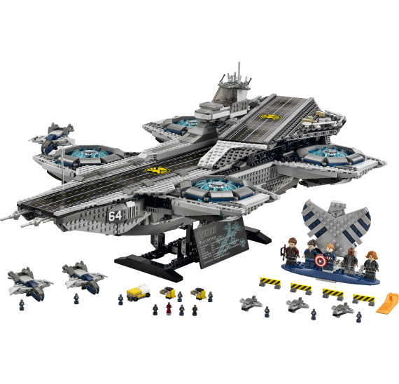 LEGO Super Heroes 76042 - The Shield Helicarrier V29 obsah balení