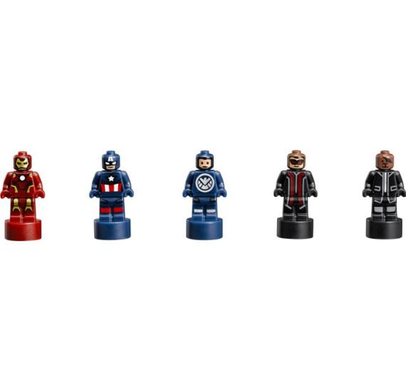 LEGO Super Heroes 76042 - The Shield Helicarrier V29  mikrofigurky