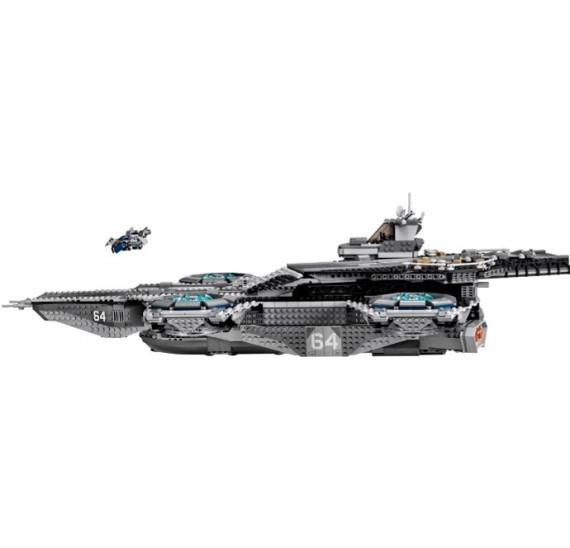 LEGO Super Heroes 76042 - The Shield Helicarrier V29 let