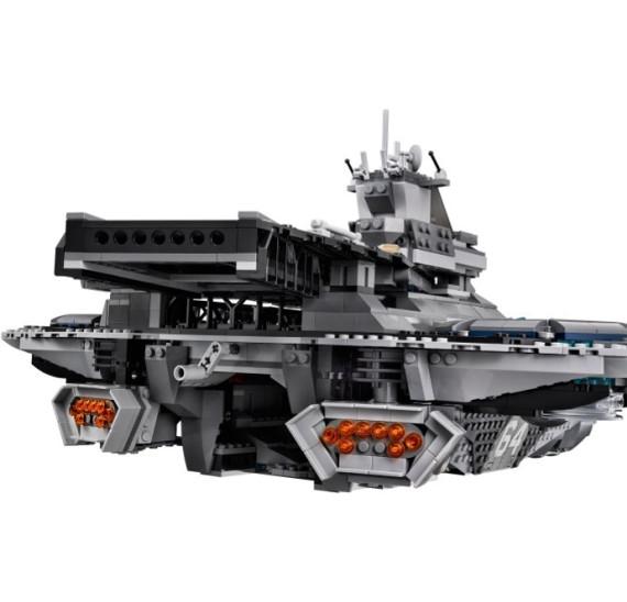 LEGO Super Heroes 76042 - The Shield Helicarrier V29 přistávací plocha