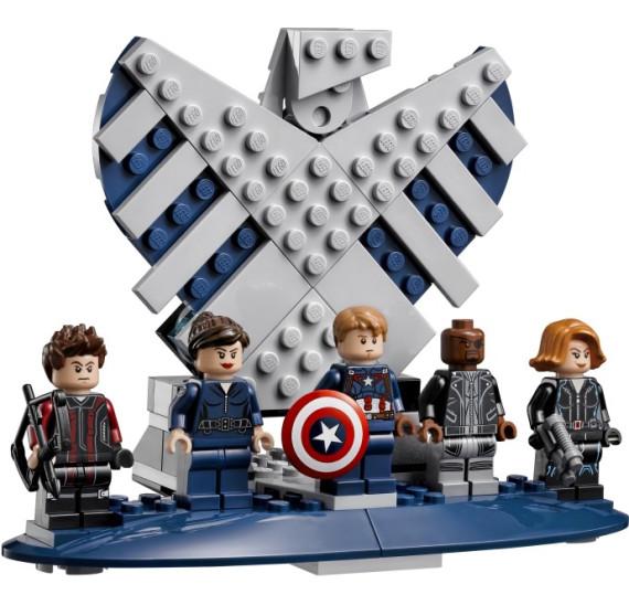 LEGO Super Heroes 76042 - The Shield Helicarrier V29 znak
