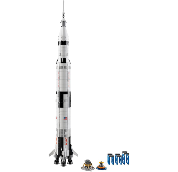 LEGO Ideas 92176 NASA Apollo Saturn V