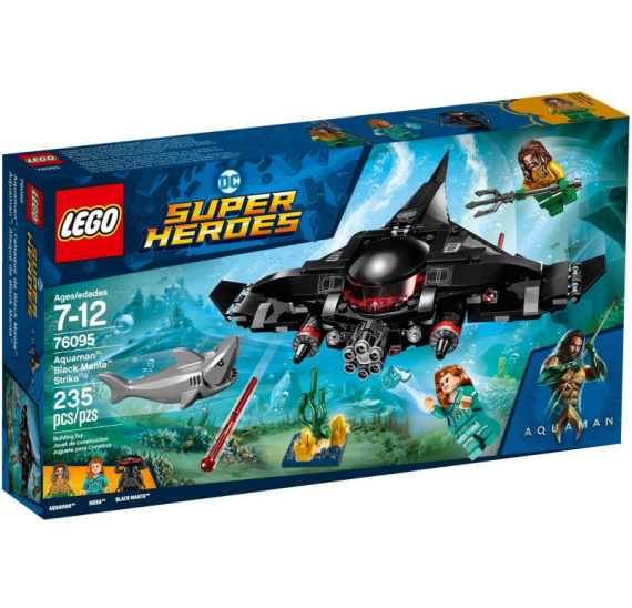 LEGO Super Heroes 76095 Aquaman Black Manta