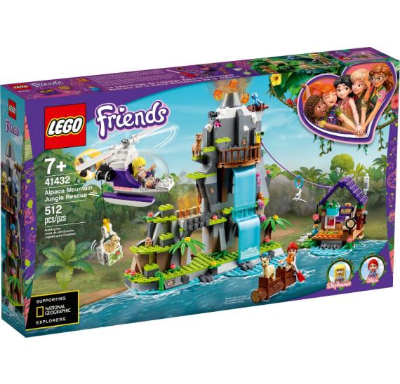 LEGO Friends 41432 Záchrana lamy na horách v džungli