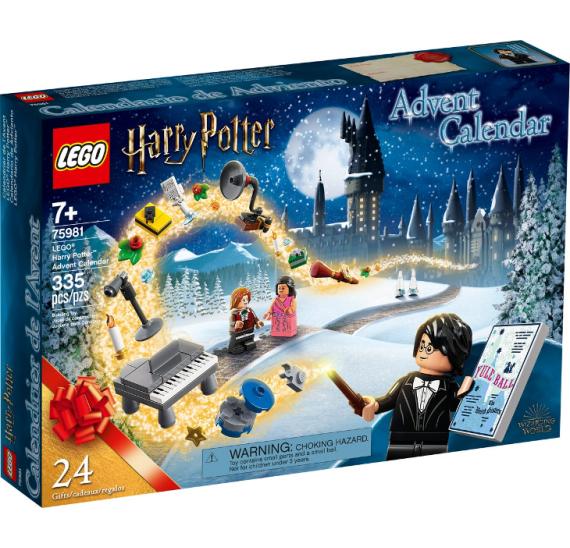 Lego 75981 Harry Potter Adventní kalendář Harry Potter