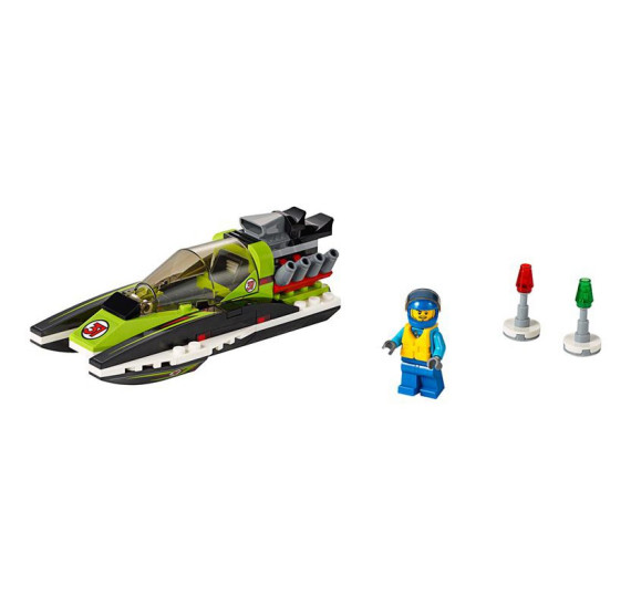 Lego City 60114 Závodní člun - detail