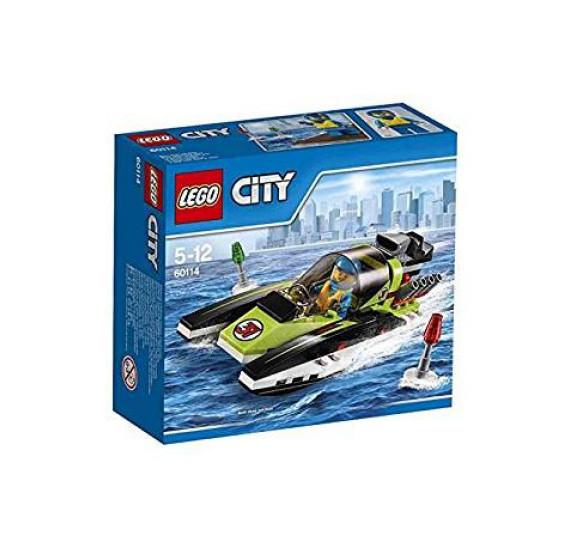 Lego City 60114 Závodní člun - celé balení