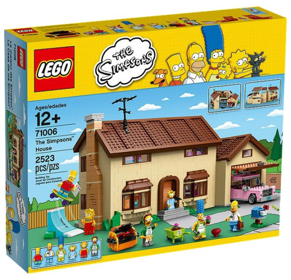 LEGO 71006 The Simpsons™ House obal