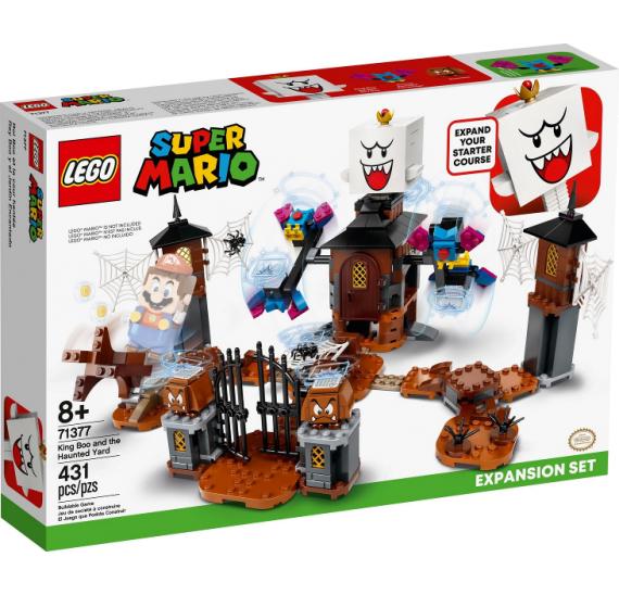 LEGO Super Mario 71377 King Boo a strašidelný dvůr