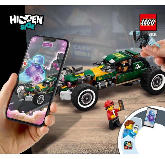 LEGO Hidden Side 70434 Nadpřirozené závodní auto