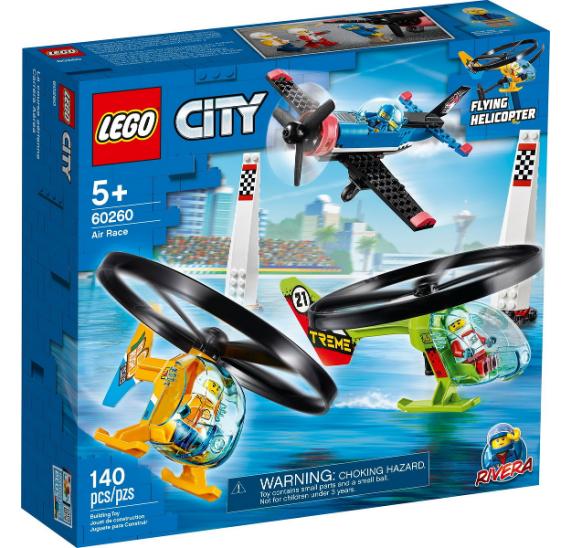 LEGO City 60260 Závody ve vzduchu