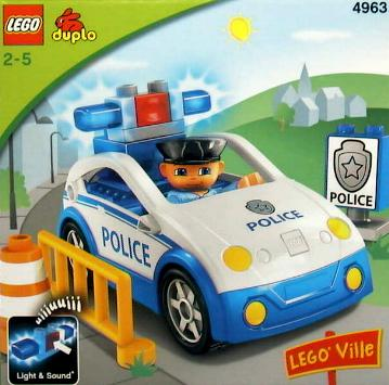 Lego Duplo 4963 - Policejní hlídka