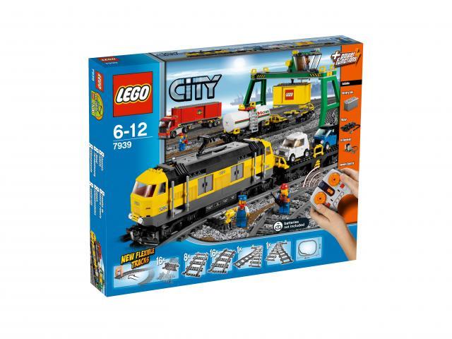 Lego City 7939 -Nákladní vlak