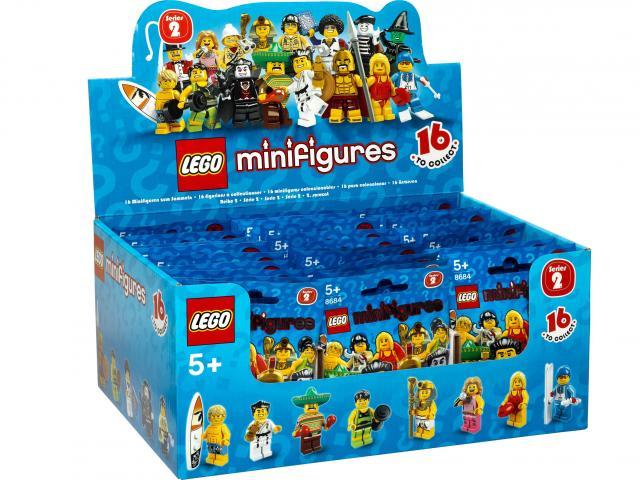 Lego Minifigurky II. série 8684
