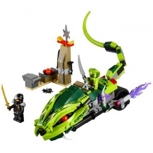 Lego 9447 Ninjago Lasha a motorka s kusadly