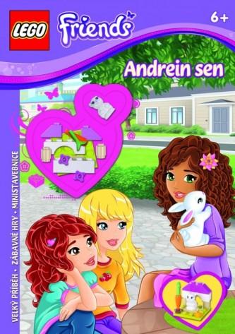 LEGO Friends kniha Andrein sen